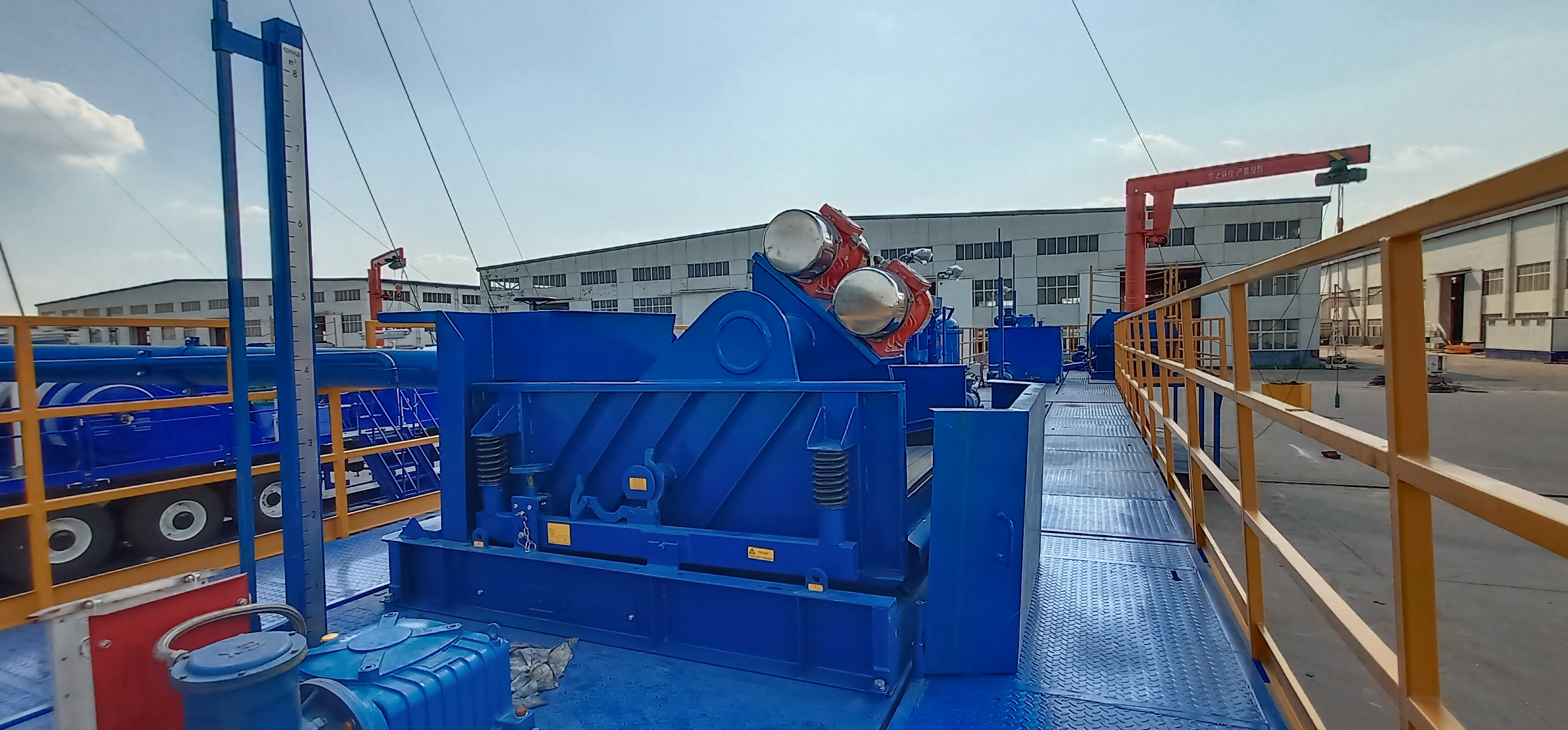 ZJ15 drilling solids control system
