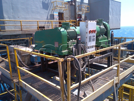 KOSUN Centrifuge in Service on a COSL Well Site at Gulf of Mexico